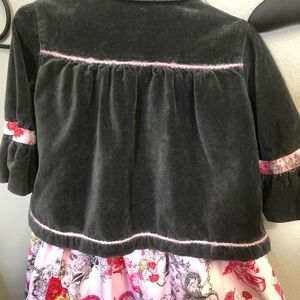 Nay Nay Dresses - 2T Velvet dress & jacket
